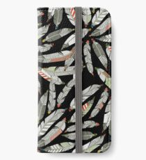 native feathers iPhone Wallet