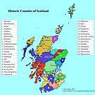 Historic Counties of Scotland by ianturton
