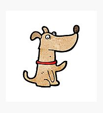 cartoon dog Photographic Print