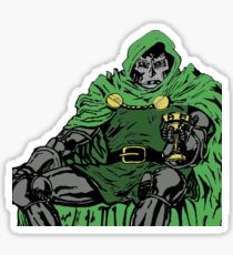 Dr DOOM  Sticker