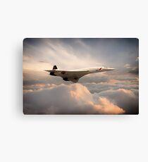 Classic Concorde Canvas Print