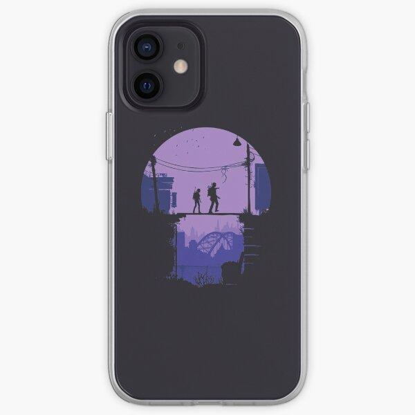 Le dernier de nous (minimaliste) Coque souple iPhone