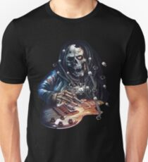 skull rock guitaris Unisex T-Shirt