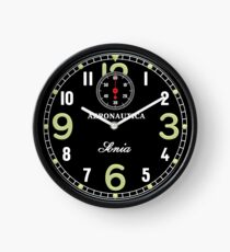 Retro aircraft clock Clock