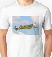 Supermarine Spitfire Ia AR213 G-AIST Unisex T-Shirt