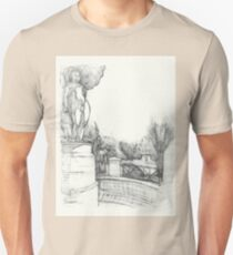 Old fountain in the park T-Shirt