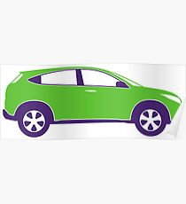 Sports Utility Vehicle SUV Poster