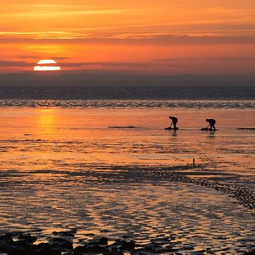 Spurn point sunset by Kerto