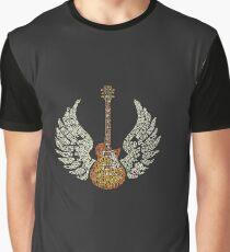 wings guitar rock Graphic T-Shirt