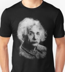 Albert Einstein Portrait Vintage Graphic T-Shirt