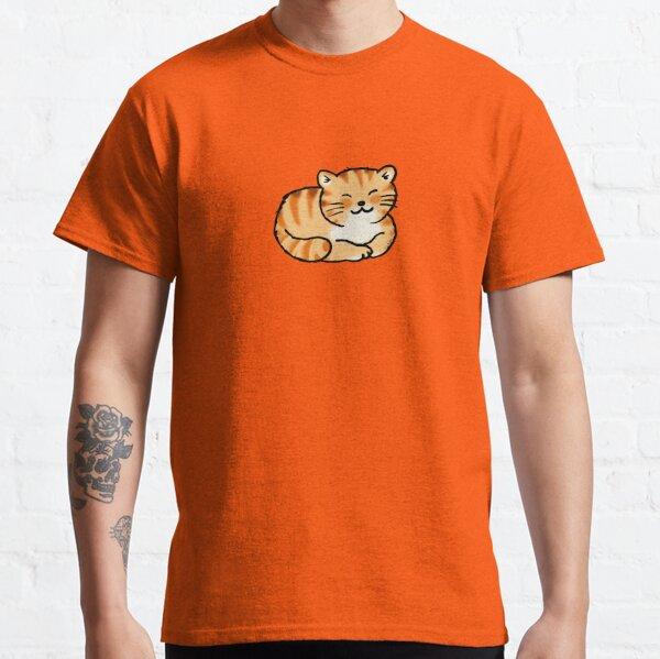Sleeping orange & white pussy cat Classic T-Shirt