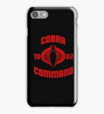 Cobra Command iPhone Case/Skin