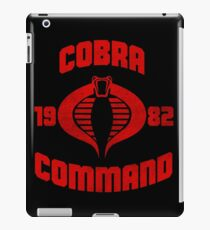 Cobra Command iPad Case/Skin
