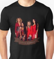Fifth Harmony Portrait With Signatures T-Shirt