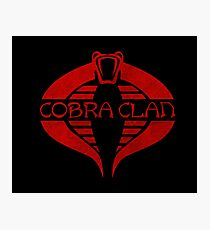 Cobra Clan Photographic Print