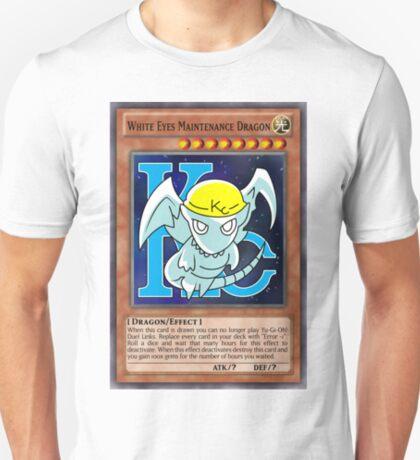White Eyes Maintenance Dragon T-Shirt