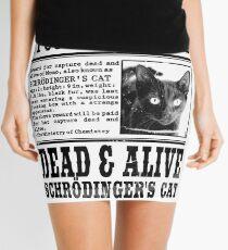 Gesucht Tot & Lebendig Schrödingers Katze Mini Skirt