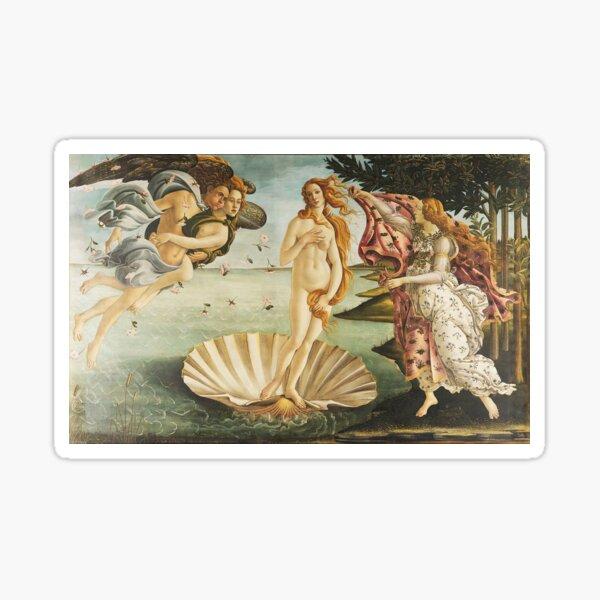 VENUS. The Birth of Venus, 1486, Sandro Botticelli. Sticker