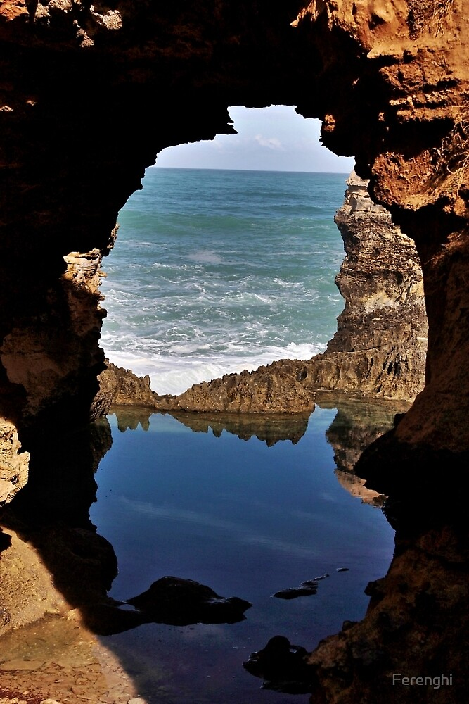 The Cauldron, Great Ocean Road, Victoria by Ferenghi