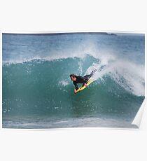 Bodyboarder shoredump Poster