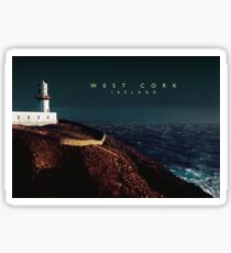 Galley Head Lighthouse, West Cork. Sticker