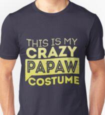 Crazy Papaw Costume  Unisex T-Shirt