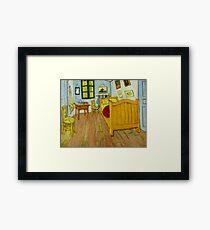 Bedroom in Arles by Van Gogh Framed Print