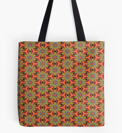 Retro 70's by Julie Everhart Tote Bag