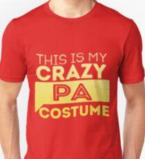 Crazy Pa Costume  Unisex T-Shirt