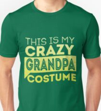 Crazy Grandpa Costume Unisex T-Shirt