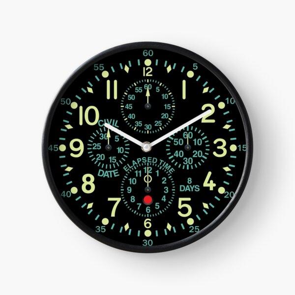 """Horloge d'aéronef """"Flying Fortress"""" Horloge"""