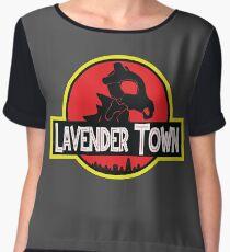 LAVENDER TOWN Women's Chiffon Top