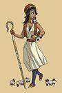Cyclops Girl Shepherdess MONSTER GIRLS Series I by angelasasser