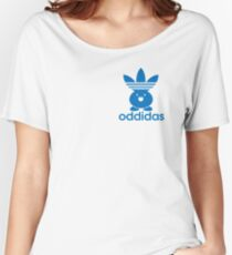ODDIDAS Women's Relaxed Fit T-Shirt