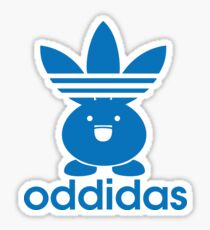 ODDIDAS Sticker