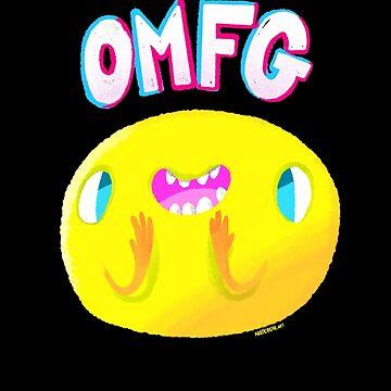 OMFG Face by nate-bear