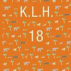 Pattern KLH 18 Darjeeling Limited & Hotel Chevalier by bonieiji