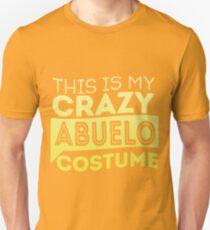 Crazy Abuelo Costume  Unisex T-Shirt
