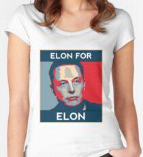 Elon for Elon Women's Fitted Scoop T-Shirt