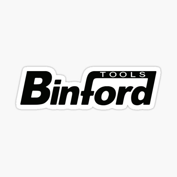 Binford Tools t-shirt - Home Improvement, Tim Taylor, Tool Time, The Tool Man Sticker
