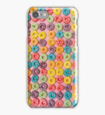 Cereal de colores iPhone Case/Skin
