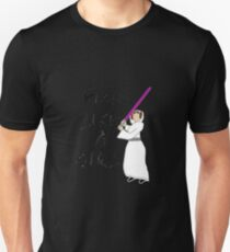 FIGHT LIKE A GIRL - LEIA ORGANA T-Shirt