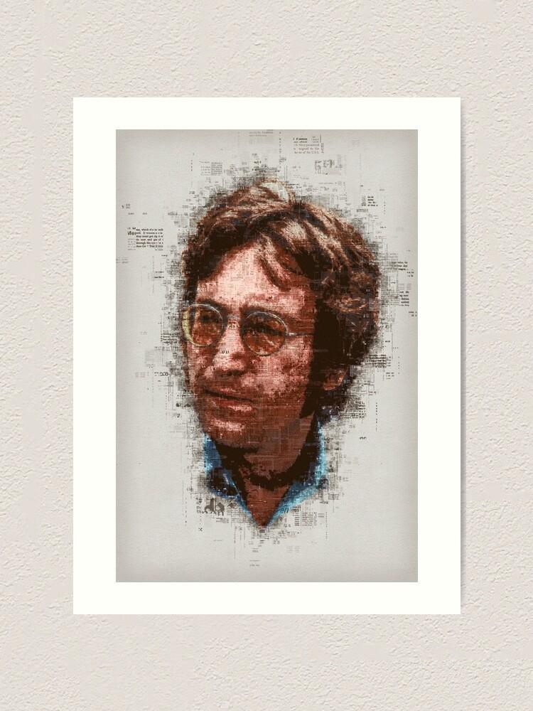 Alternate view of John Art Print