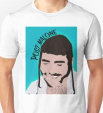 Post Malone (With Bangs) Unisex T-Shirt
