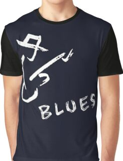 blues art guitar Graphic T-Shirt