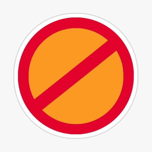 Anti-Orange / Anti-Trump Sticker