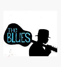 blues guitar Photographic Print