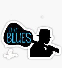blues guitar Sticker
