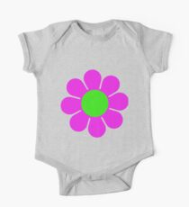 Pink Green Hippy Flower Daisy Kids Clothes