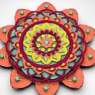 «Mandala 3D Lowpoly» de angeldecuir